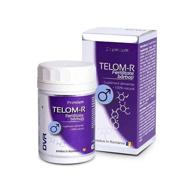 Telom-R Fertilitate Barbati, 120 cspsule, DVR Pharm