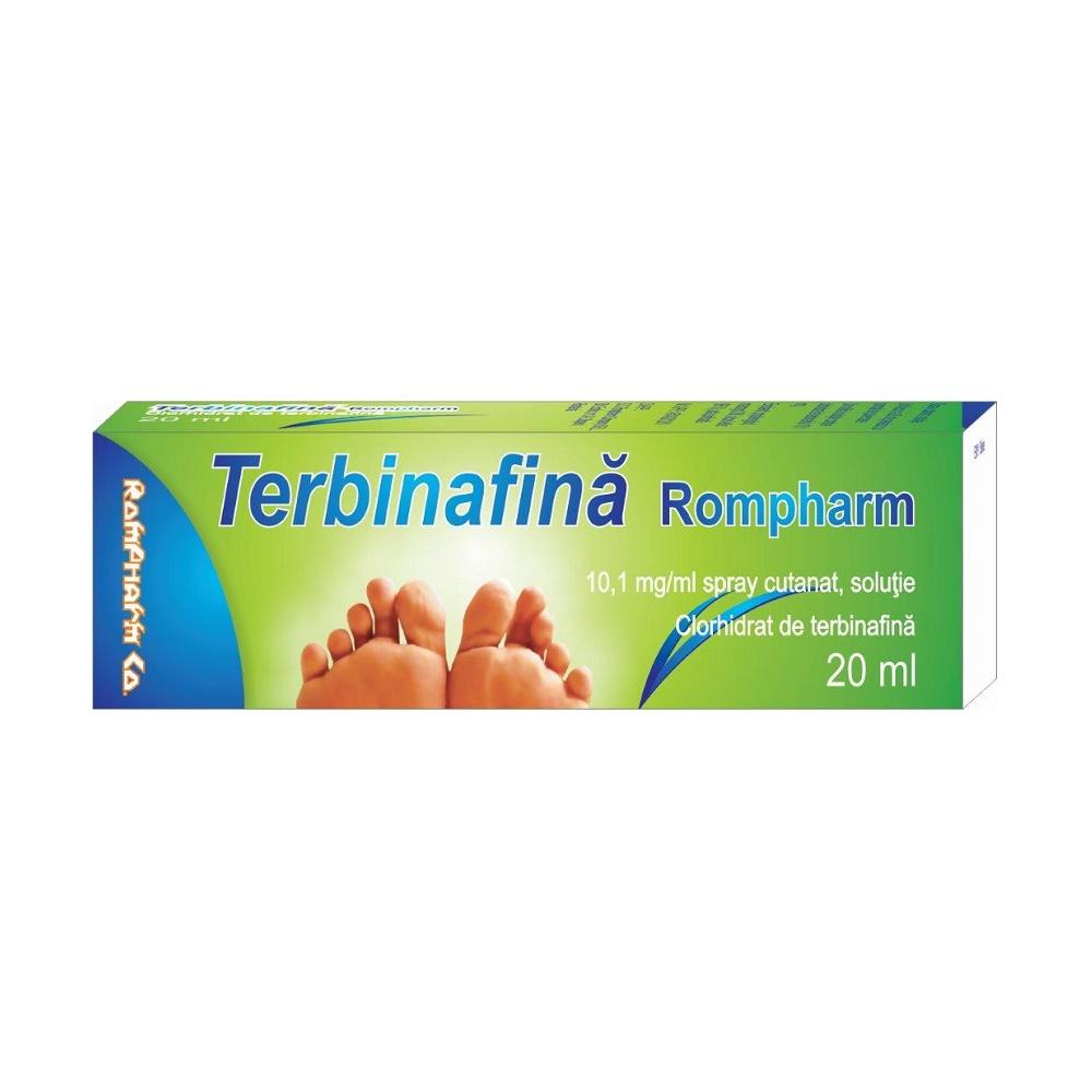 Terbinafina  0,10%, spray solutie, 20 ml, Rompharm