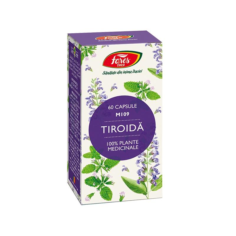 Tiroida, 60 capsule, M109, Fares