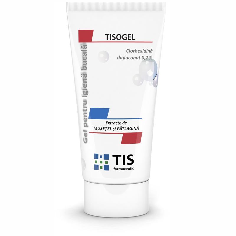 Tisogel gel pentru igiena bucală, 50 ml, Tis Farmaceutic