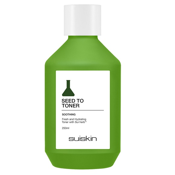 Toner cu efect calmant Seed To, 250 ml, Suiskin