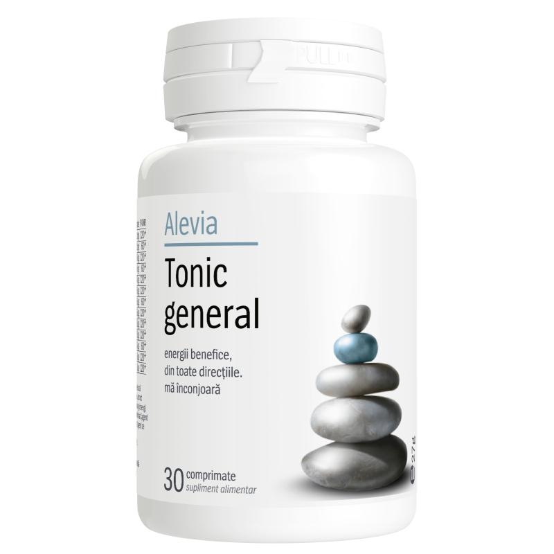 Tonic general, 30 comprimate, Alevia