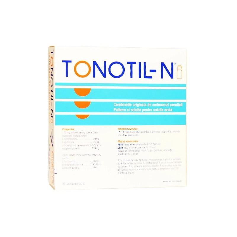 Tonotil-N, 10 flacoane buvabile, Vianex Sa