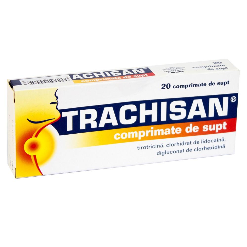 Trachisan fara zahar, 20 comprimate, Engelhard Arzneimittel