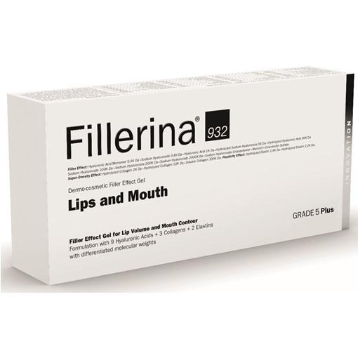 Tratament pentru buze si conturul buzelor Grad 5 Plus Fillerina 932, 7 ml, Labo