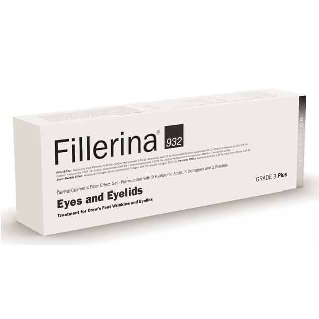Tratament pentru ochi si pleoape Grad 3 Plus Fillerina 932, 15 ml, Labo