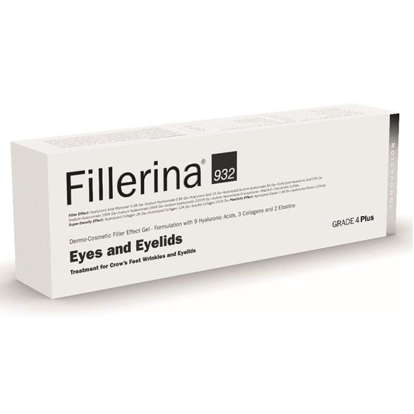Tratament pentru ochi si pleoape Grad 4 Plus Fillerina 932, 15 ml, Labo