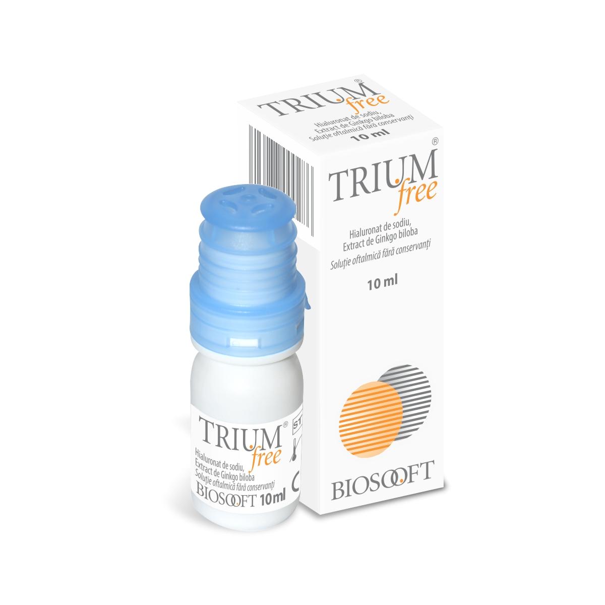 Trium free picături,10 ml, Biosooft Italia