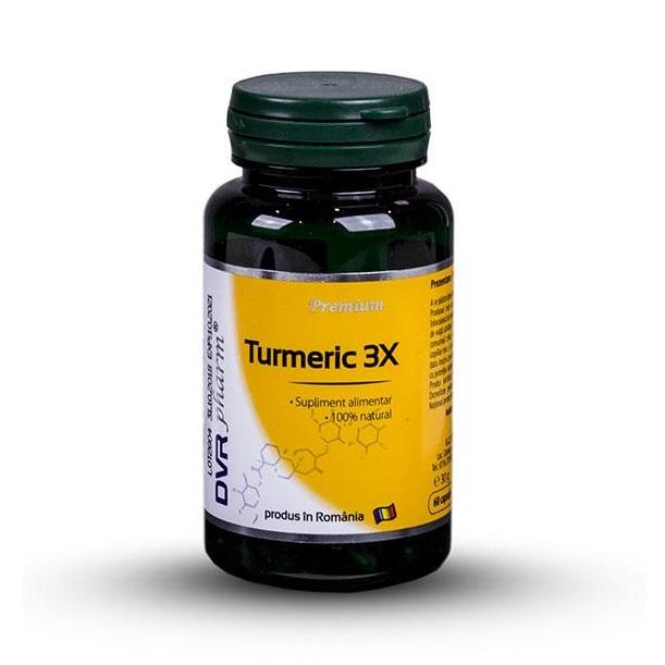 Turmeric 3X, 60 capsule, DVR Pharm
