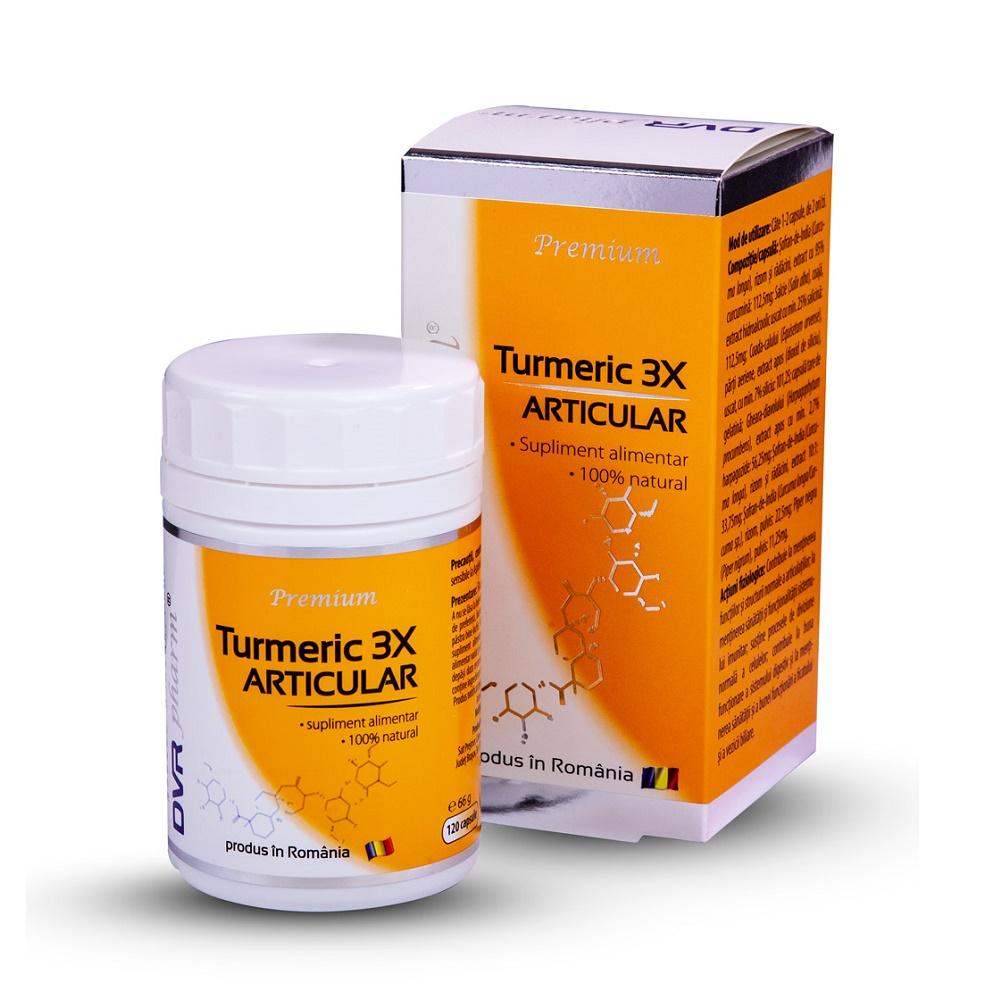 Turmeric 3X articular, 120 capsule, DVR Pharm