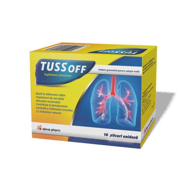 Tussoff, 10 plicuri unidoză, Slavia Pharm