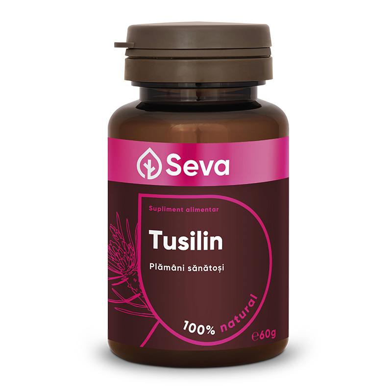 Tusilin, 60 comprimate masticabile, Seva