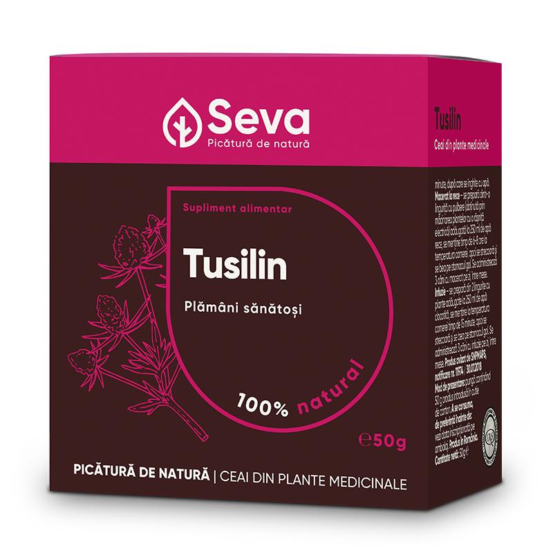 Ceai din plante medicinale Tusilin, 50 g, Seva