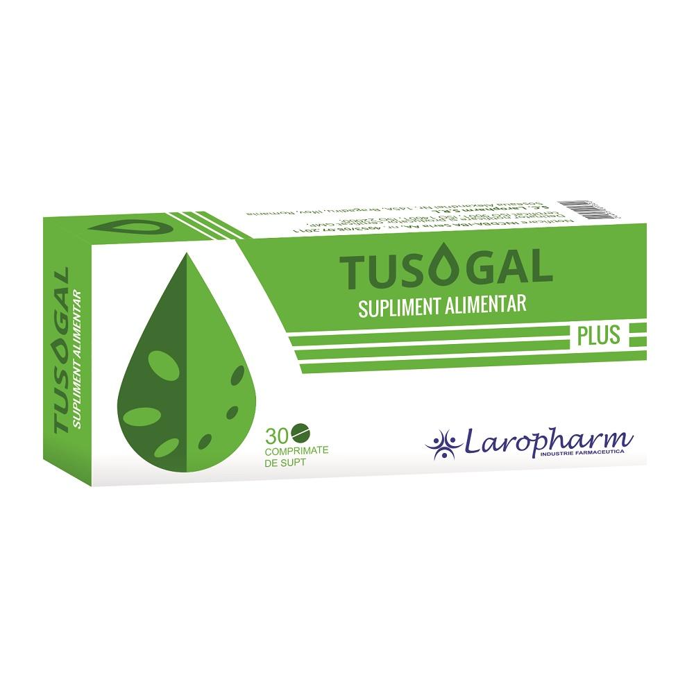 Tusogal Plus, 30 comprimate, Laropharm