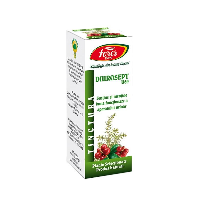 Tinctura Diurosept, U69, 30 ml, Fares