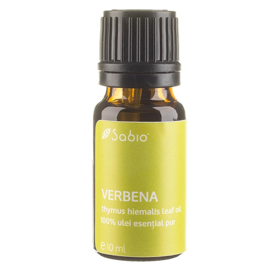 Ulei 100% pur esențial Verbena, 10 ml, Sabio