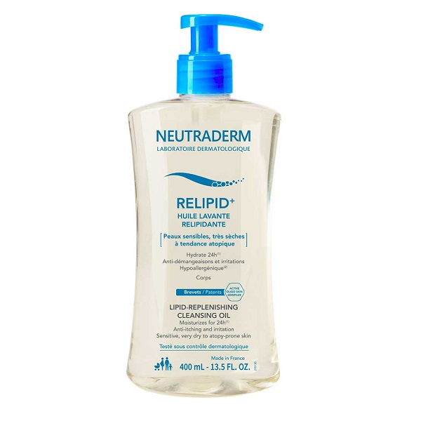 Ulei de baie relipidant Relipid+ Neutraderm, 400 ml, Gilbert