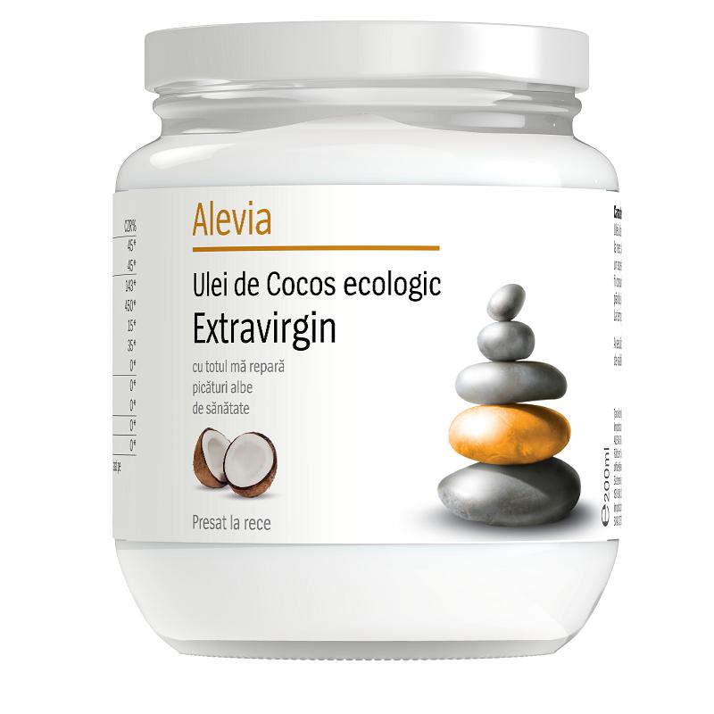 Ulei de cocos egologic extravirgin, 200 ml, Alevia