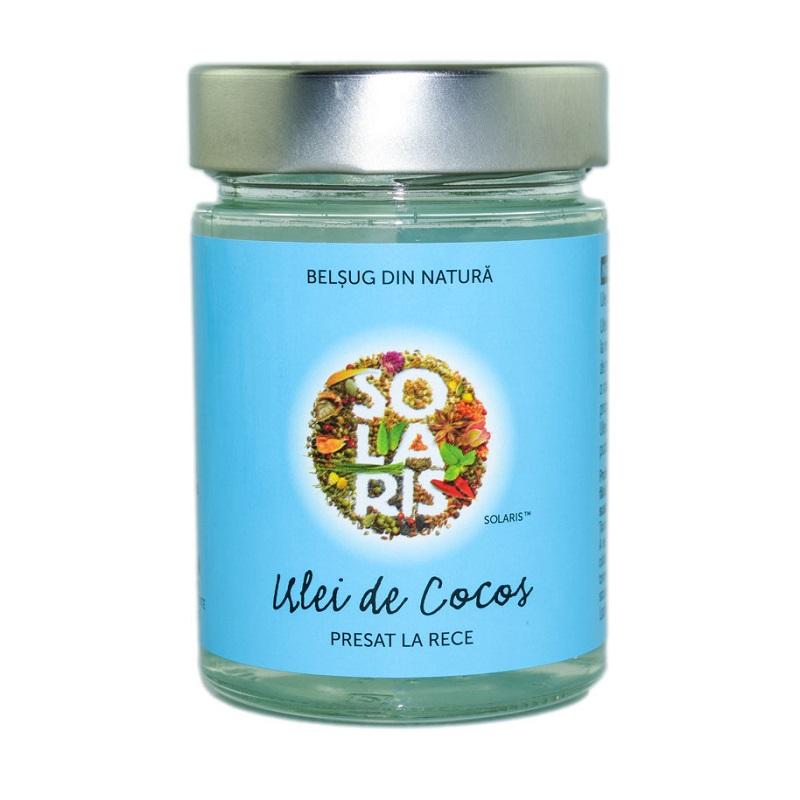 Ulei de cocos presat la rece, 300 ml, Solaris