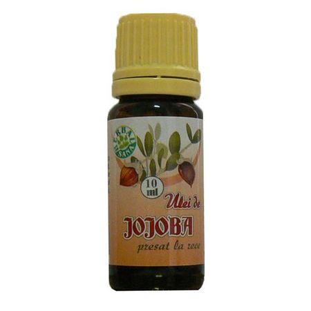 Ulei de Jojoba presat la rece, 10 ml, Herbavit