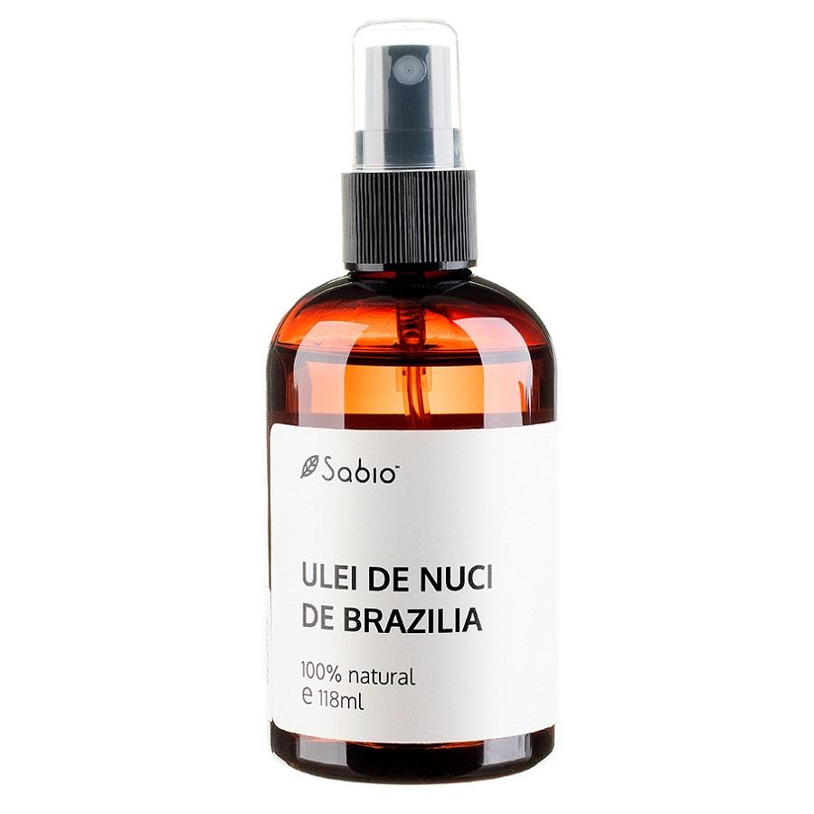 Ulei de nuci de Brazilia 100 natural, 118 ml, Sabio