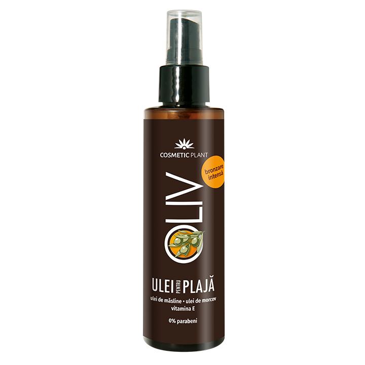 Ulei de plaja pentru bronzare intensa Oliv, 150 ml, Cosmetic Plant