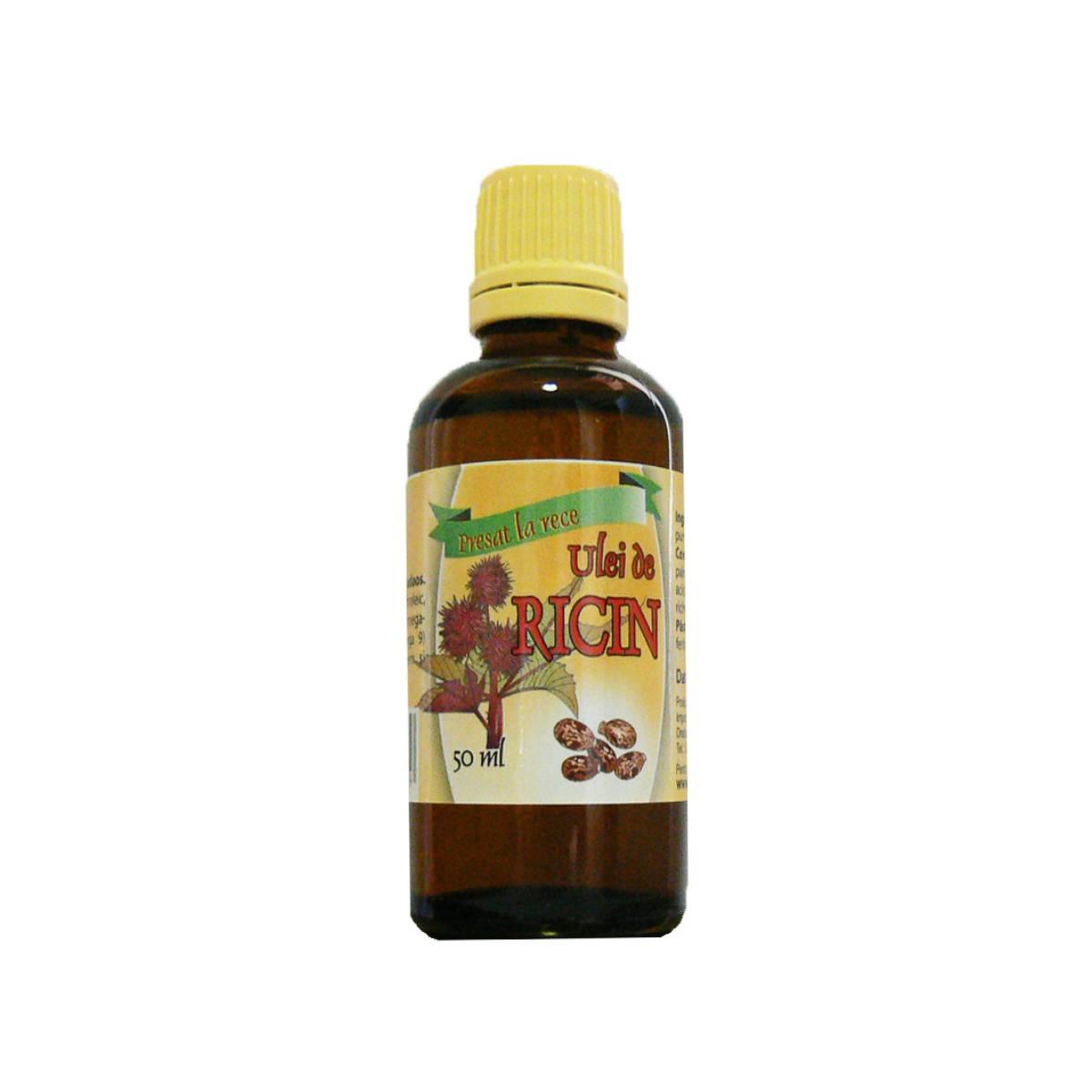 Ulei de Ricin, 50 ml, Herbavit