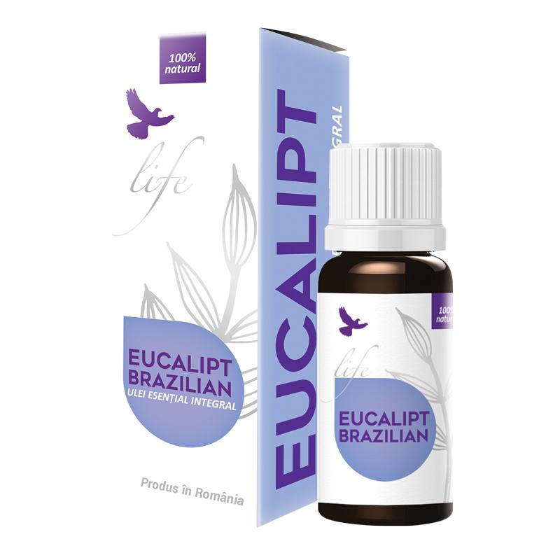 Ulei esential de Eucalipt Brazilian, 10 ml, Dvr Pharma