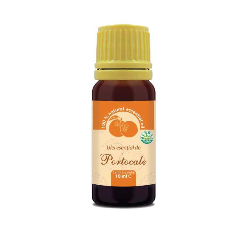 Ulei esenţial de portocale 100% pur, 10 ml, Herbavit