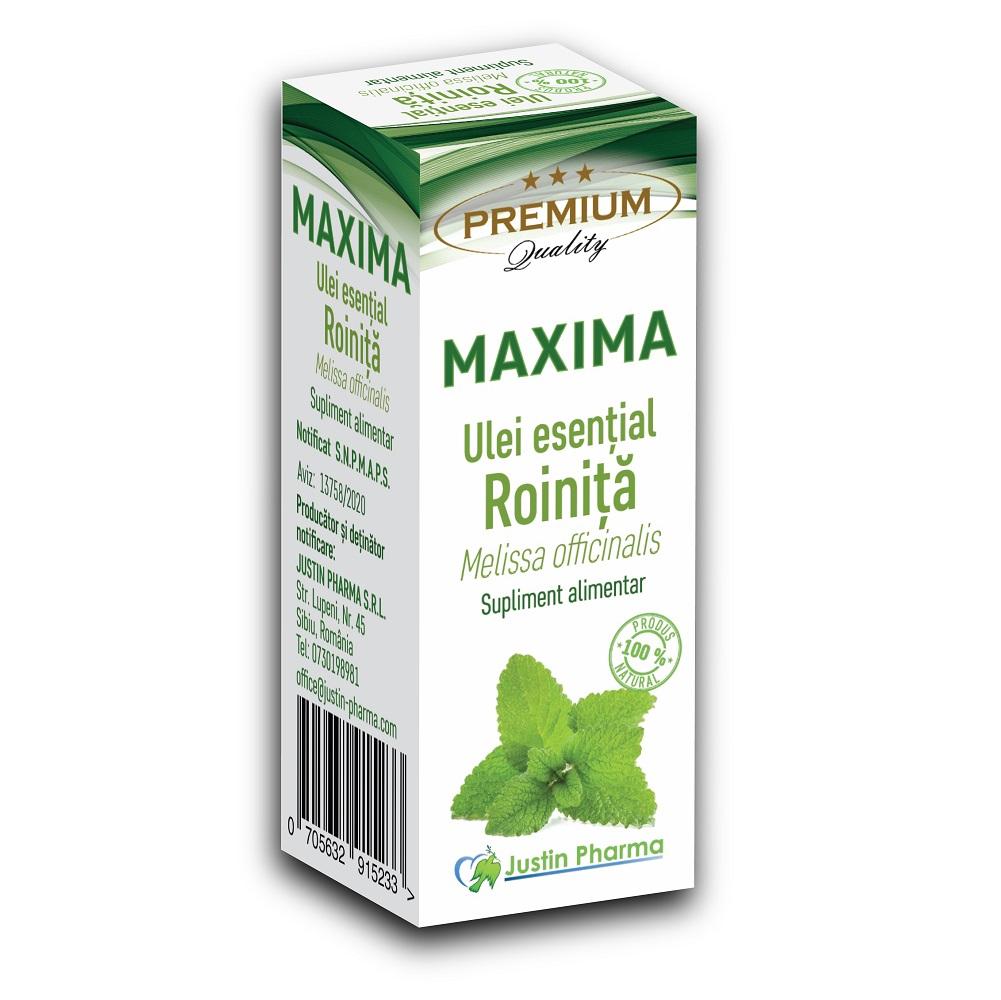 Ulei esential de Roinita, 10 ml, Justin Pharma