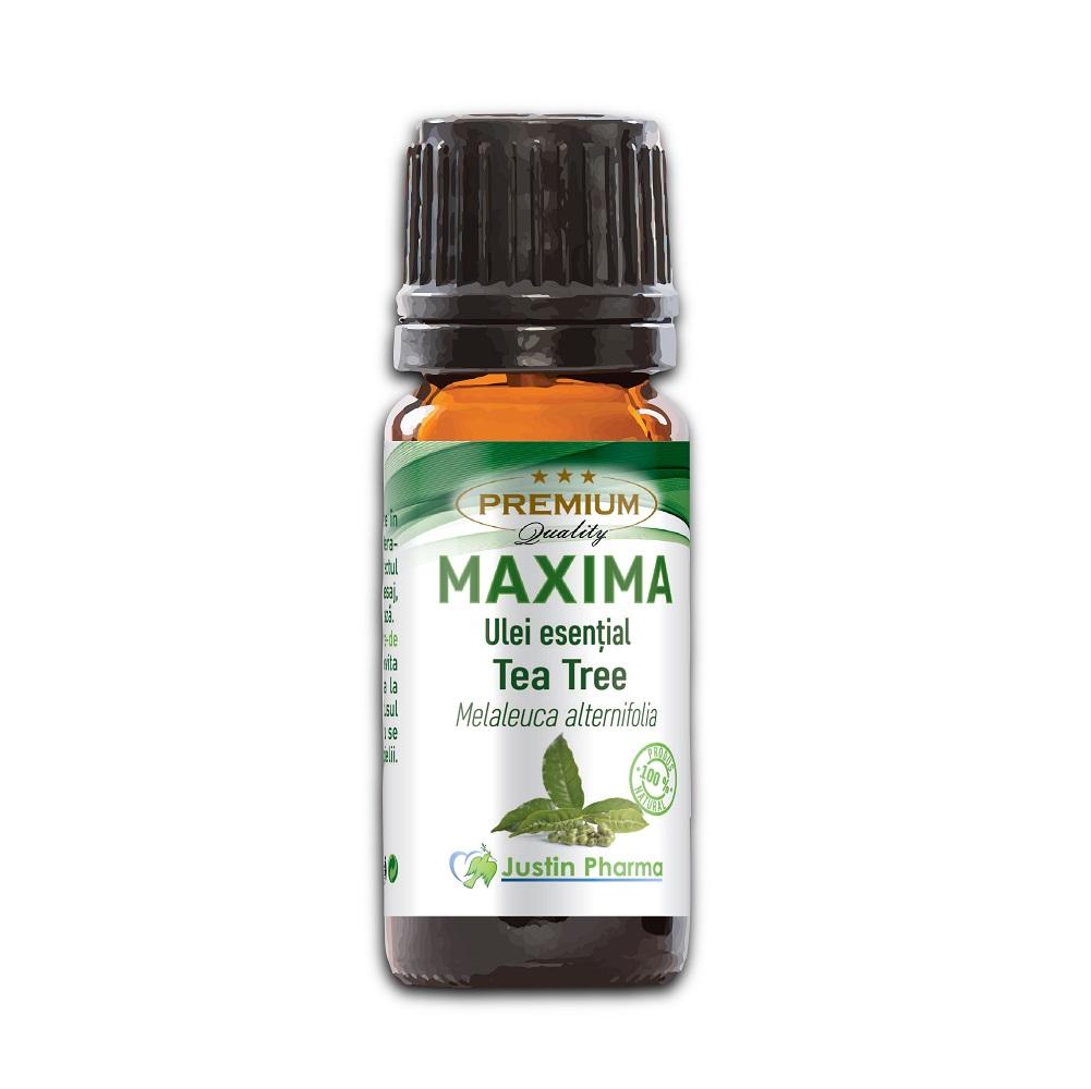 Ulei esential de Tea Tree, 10 ml, Justin Pharma