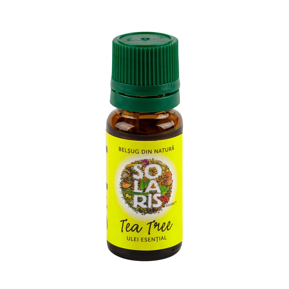 Ulei esential de Tea Tree, 10 ml, Solaris