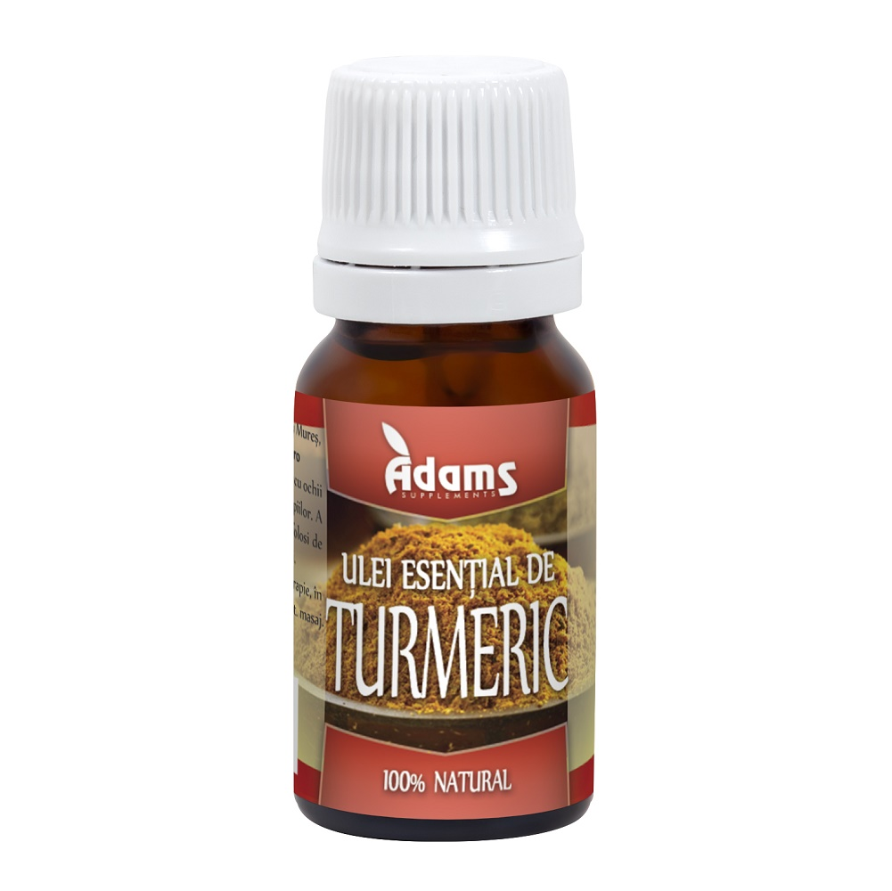 Ulei esential de turmeric (AS22), 10 ml, Adams Vision