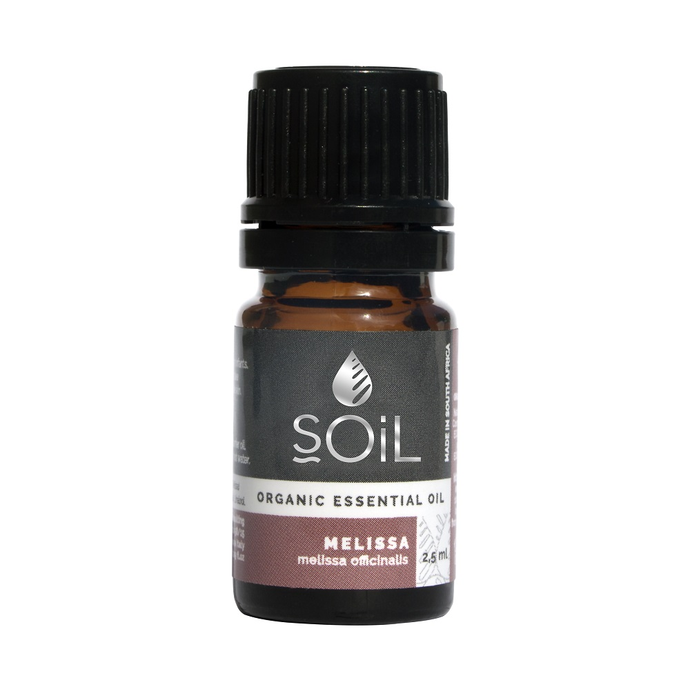 Ulei esențial Melissa Pur 100% Organic, 2,5 ml, SOiL