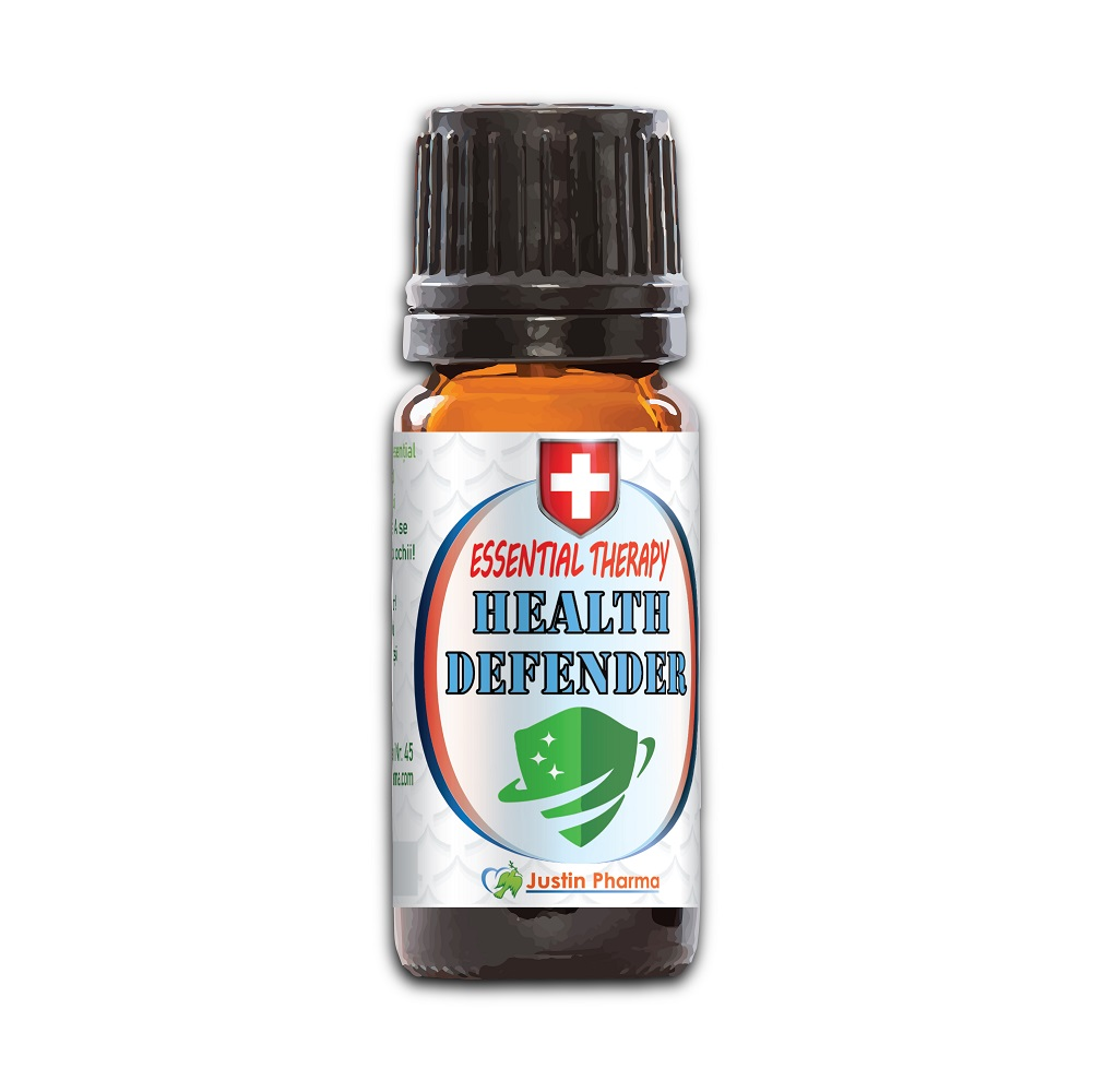Ulei esential therapy Health defender, 10 ml, Justin Pharma