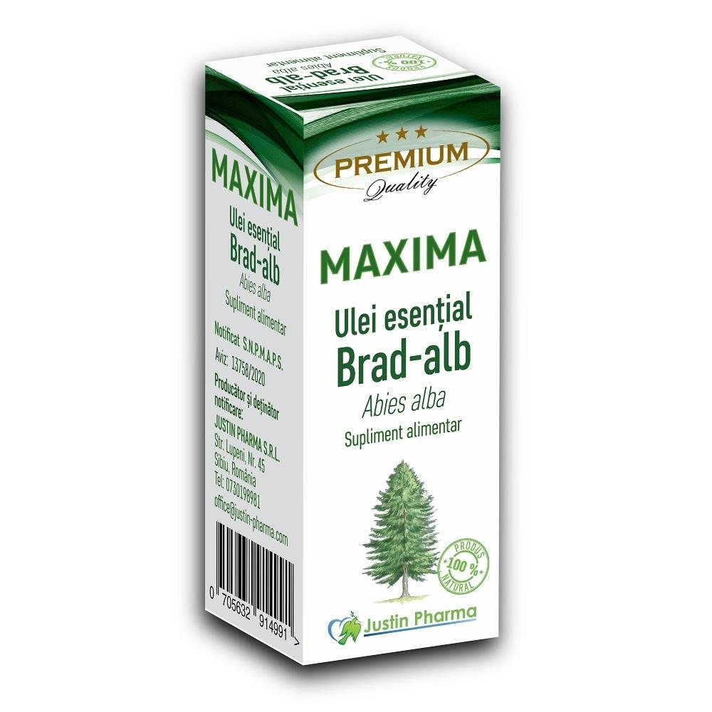 Ulei esential de Brad alb Maxima, 10 ml, Justin Pharma