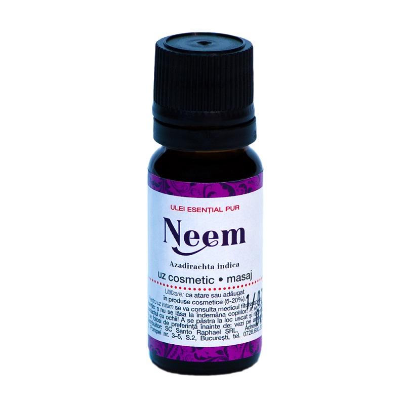 Ulei estential de neem, 10 ml, Steaua Divina
