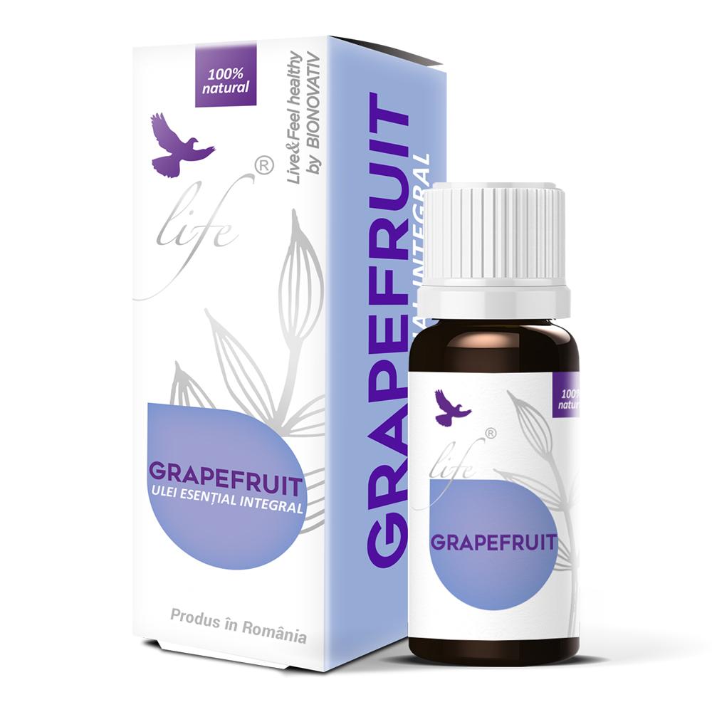Ulei volatil de grapefruit, 10 ml, Bionovativ