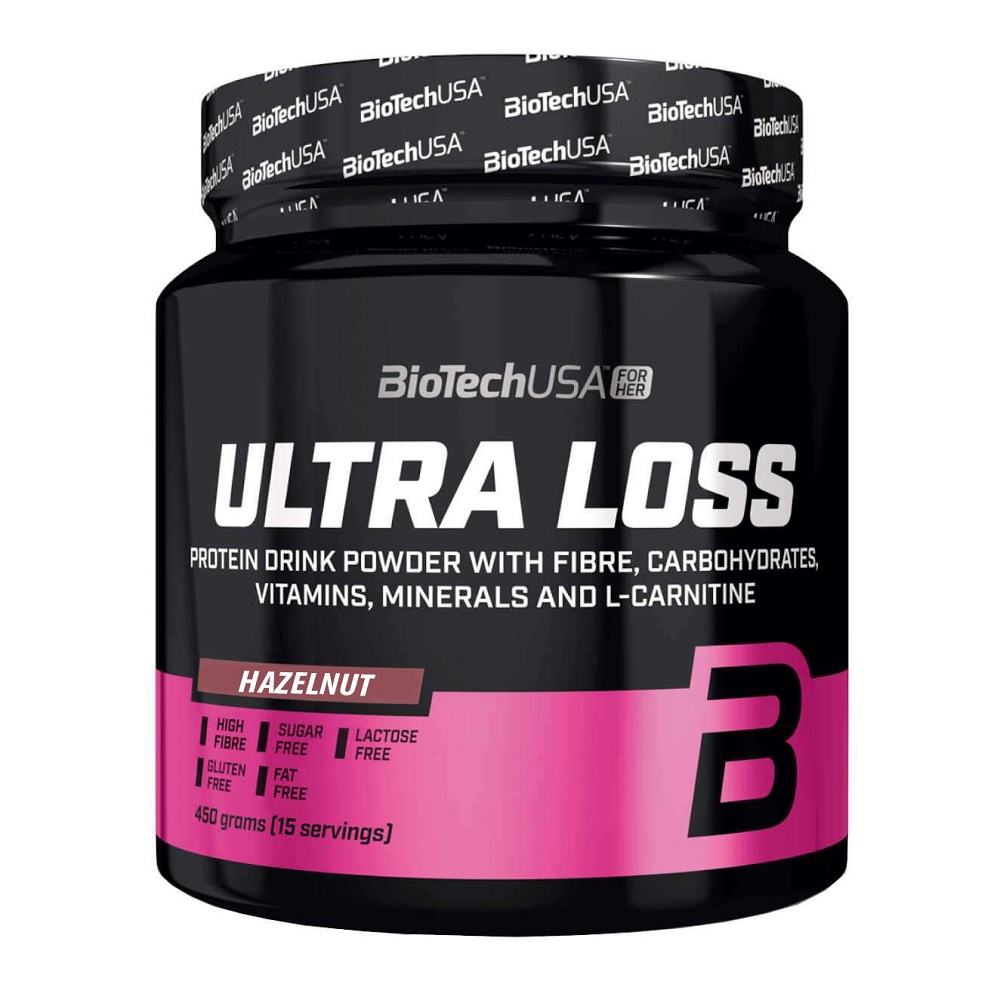 Ultra Loss Shake Hazelnut, 450g, Biotech USA