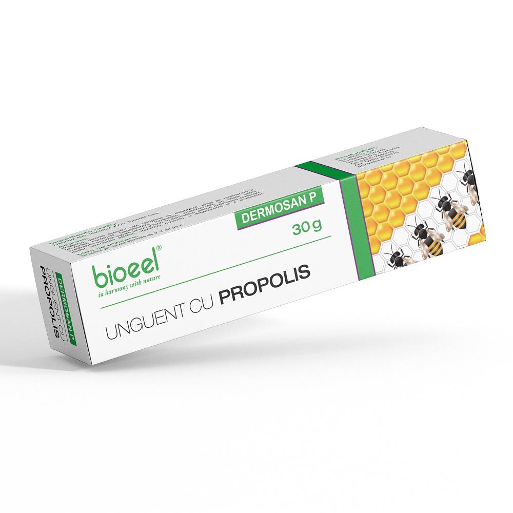 Unguent cu propolis Dermosan P, 30 g, Bioeel
