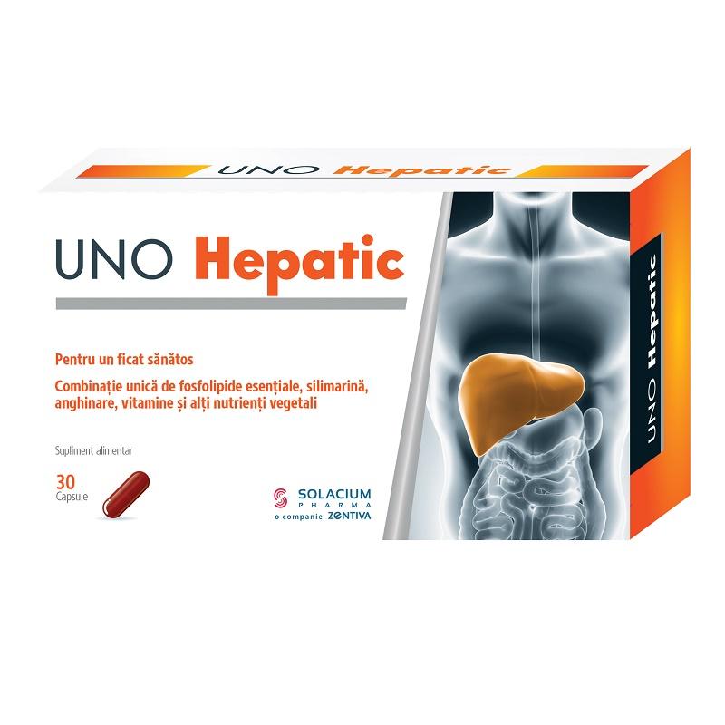 Uno Hepatic, 30 capsule, Solacium Pharma