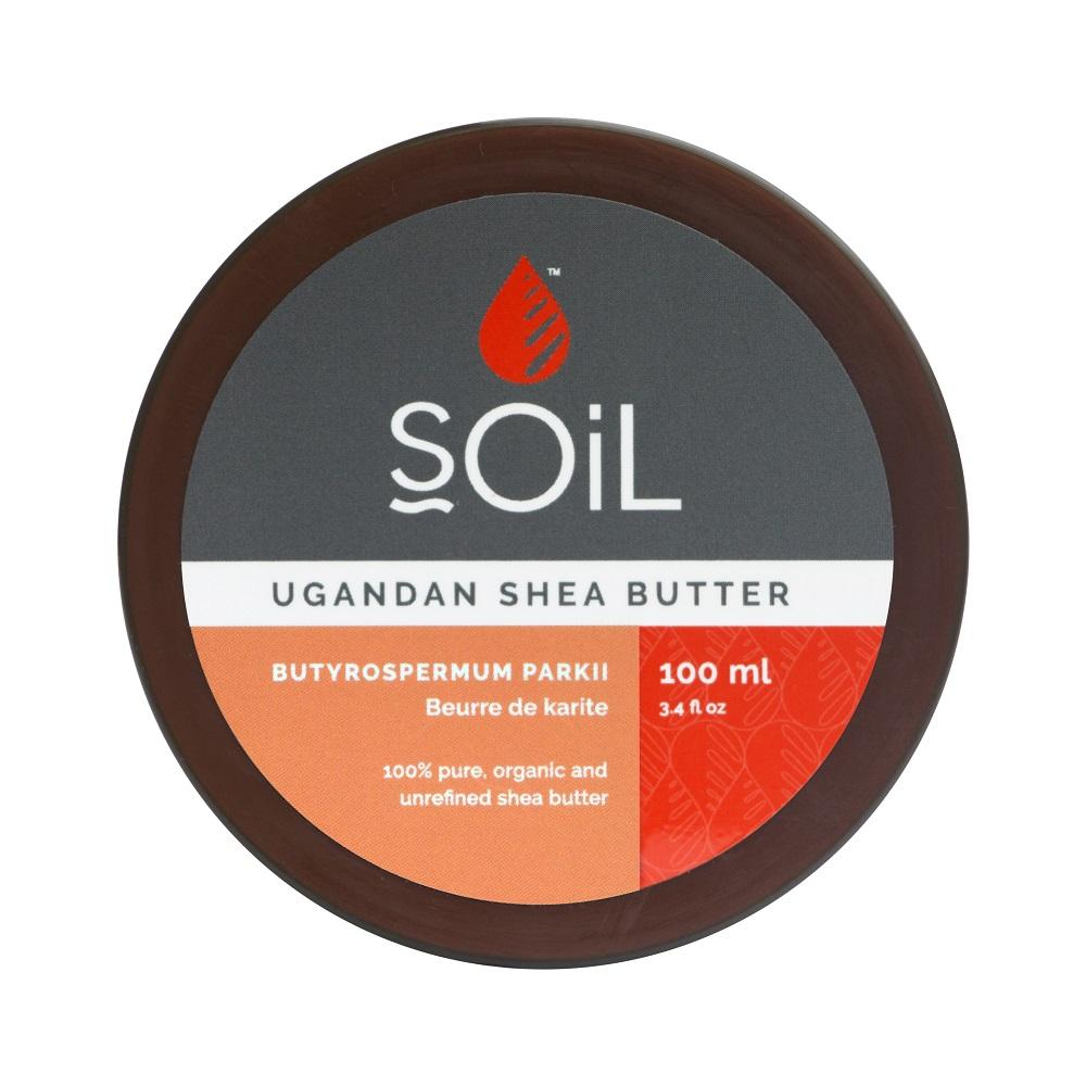 Unt de Shea Pur 100% Organic, 100 ml, SOiL
