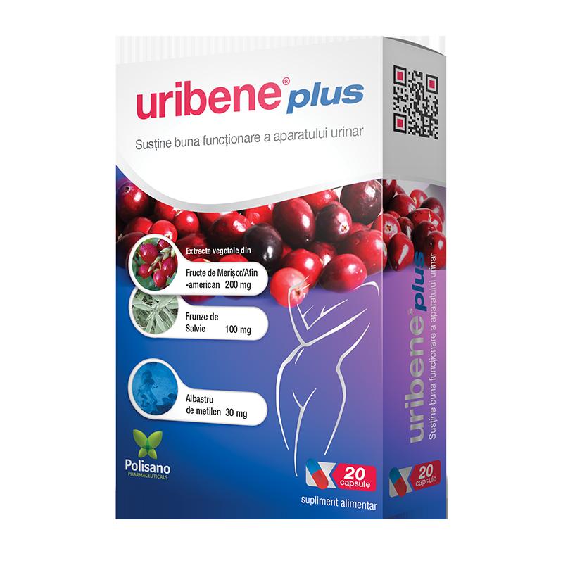 Uribene Plus, 20 capsule, Polisano