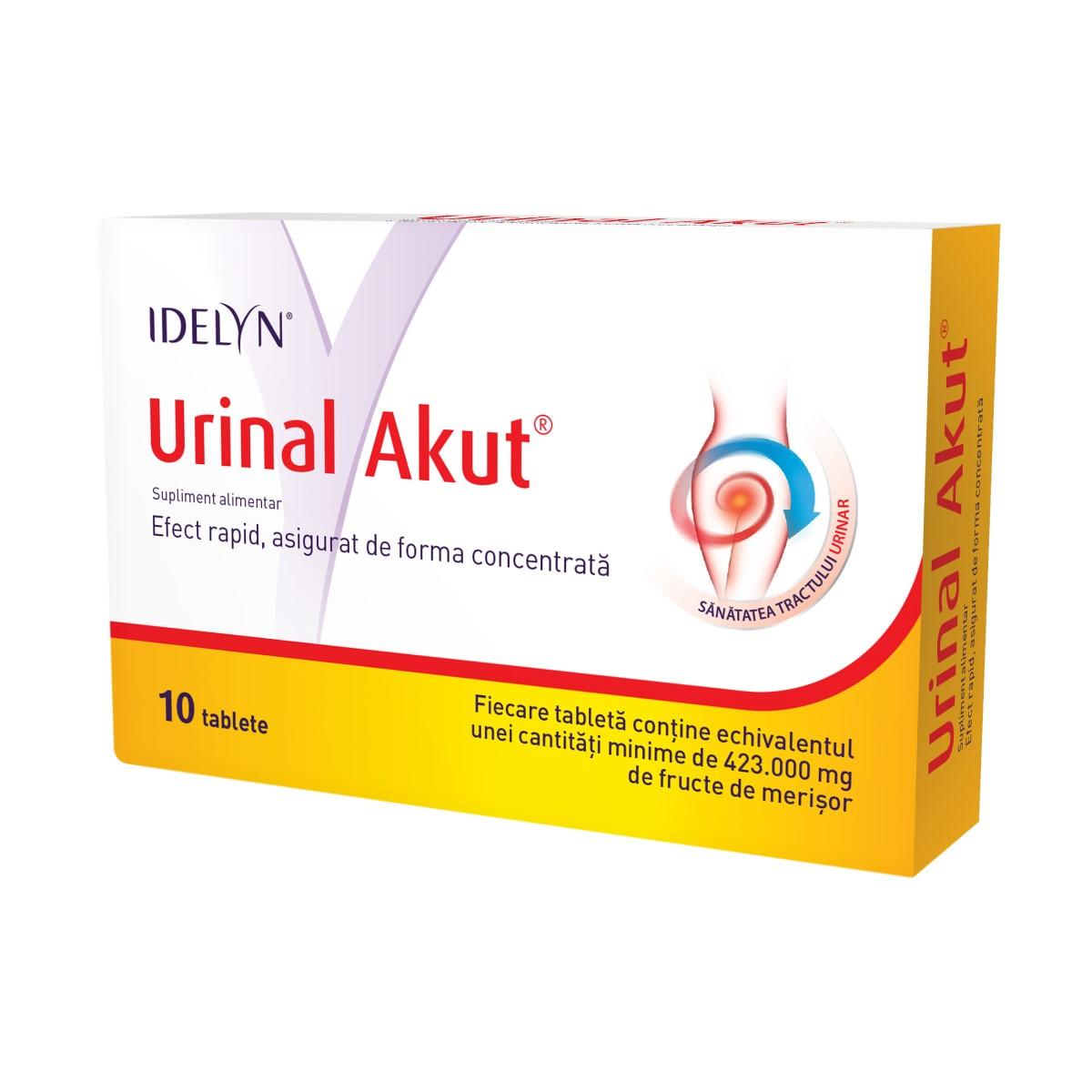 Urinal Akut Idelyn, 10 tablete, Walmark