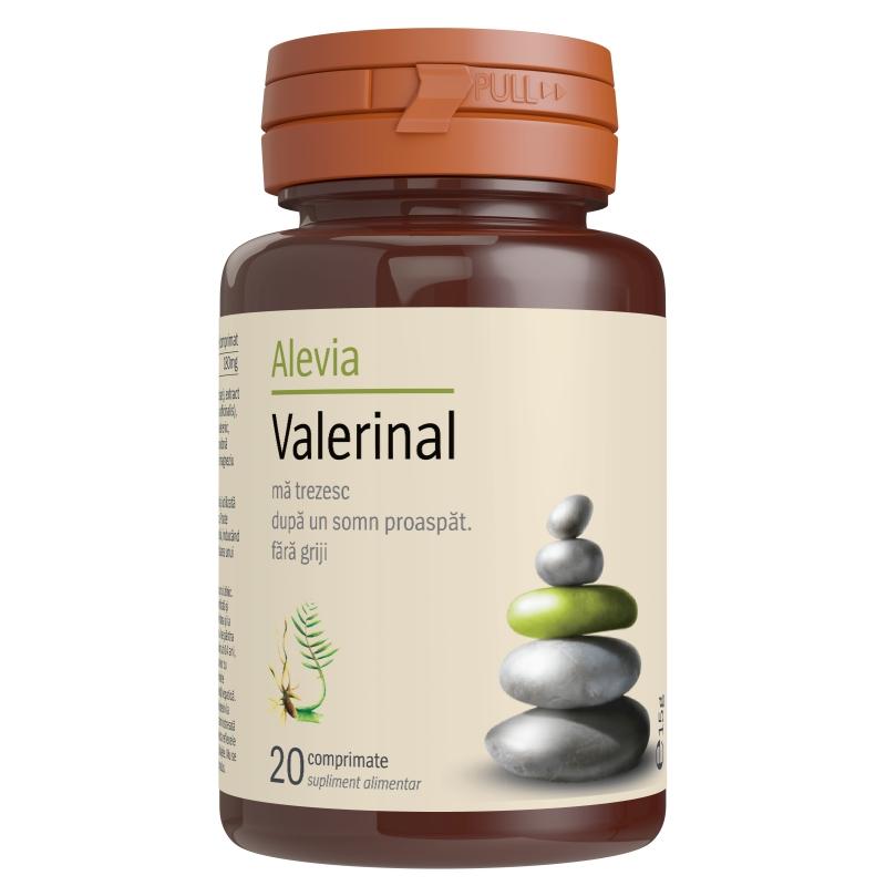 Valerinal, 20 comprimate, Alevia