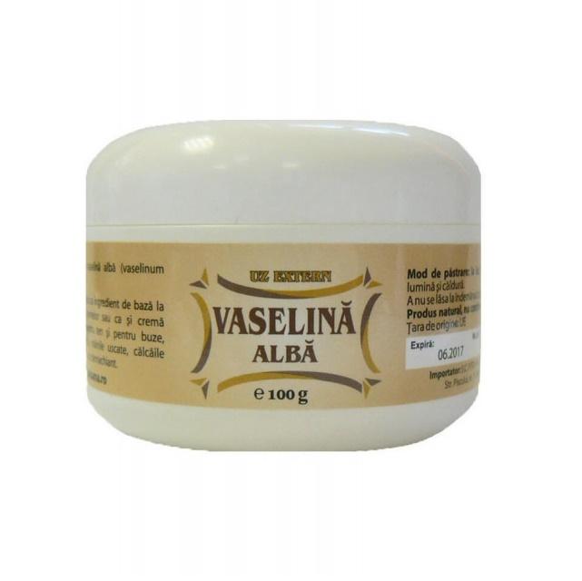 Vaselina alba, 100 g, Herbavit