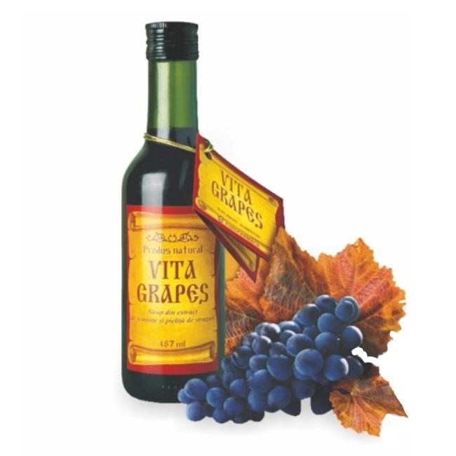 Vita Grapes sirop, 187 ml, Eurofarmaco
