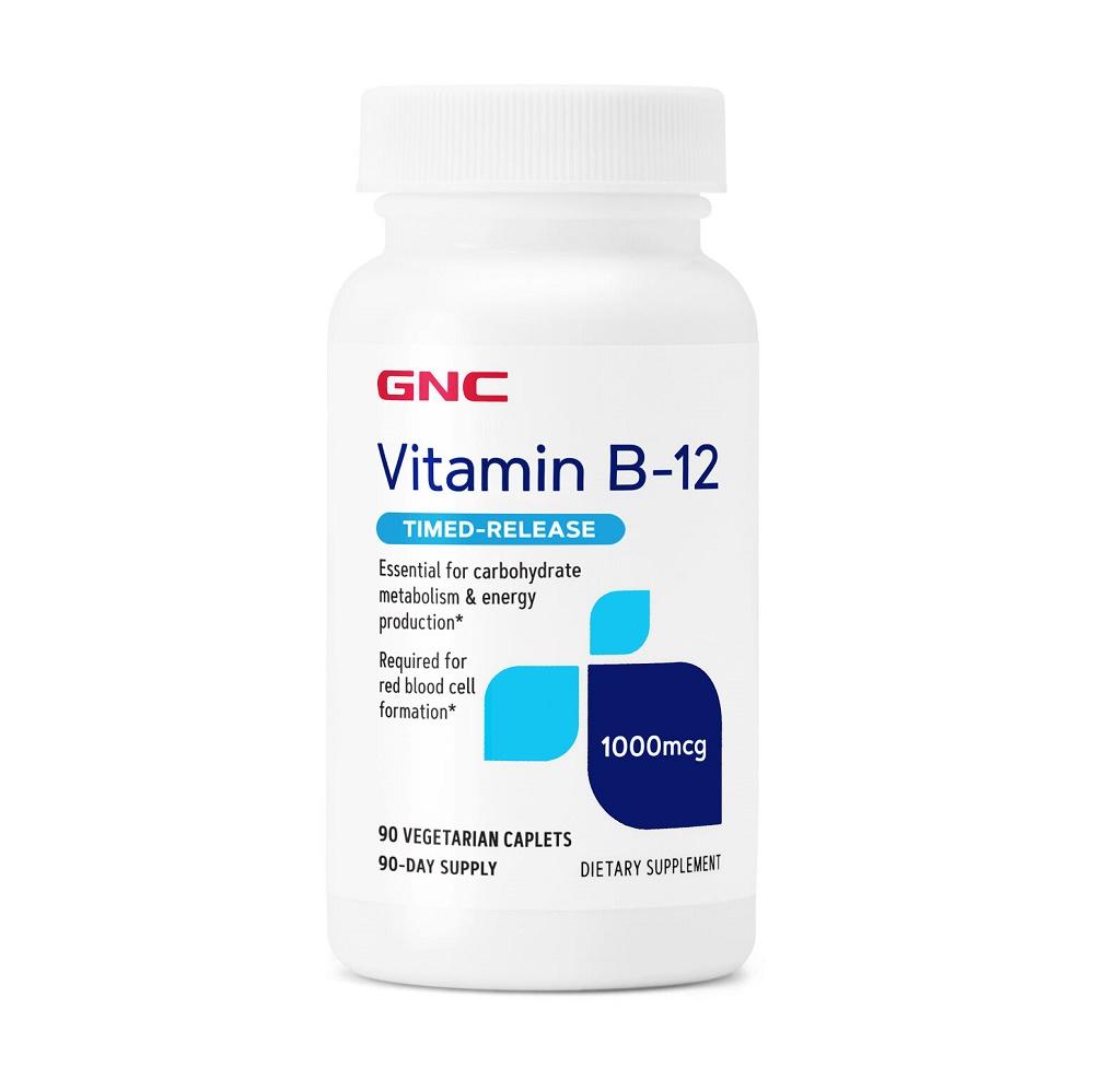 Vitamina B-12 1000 mcg (016925), 90 tablete, Gnc