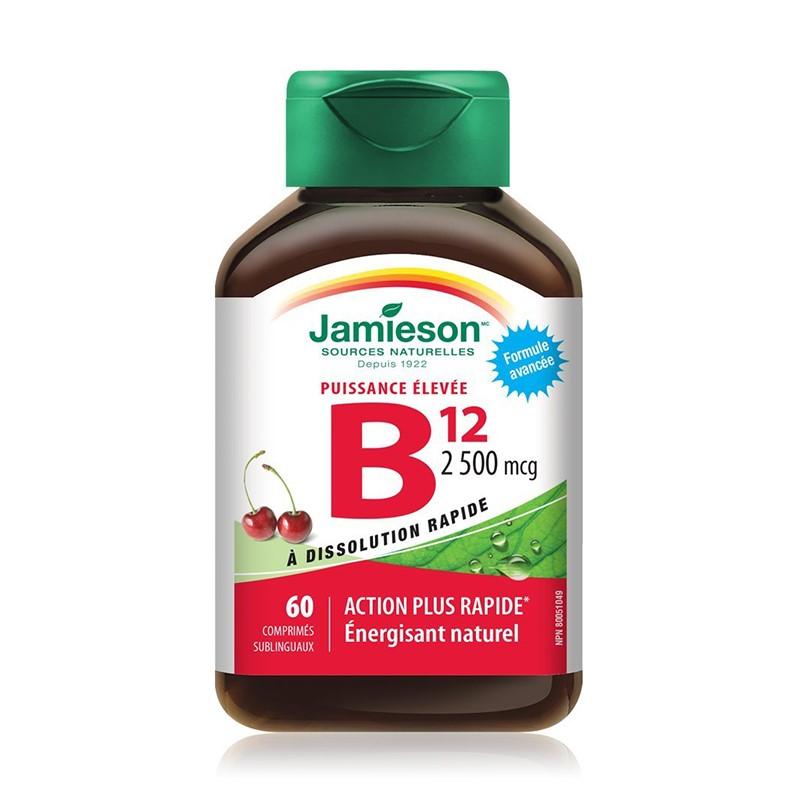 Vitamina B12 2500 mcg, 60 tablete, Jamieson
