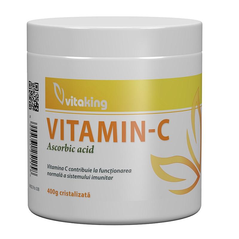 Vitamina C ascorbic acid, 400 g, VitaKing